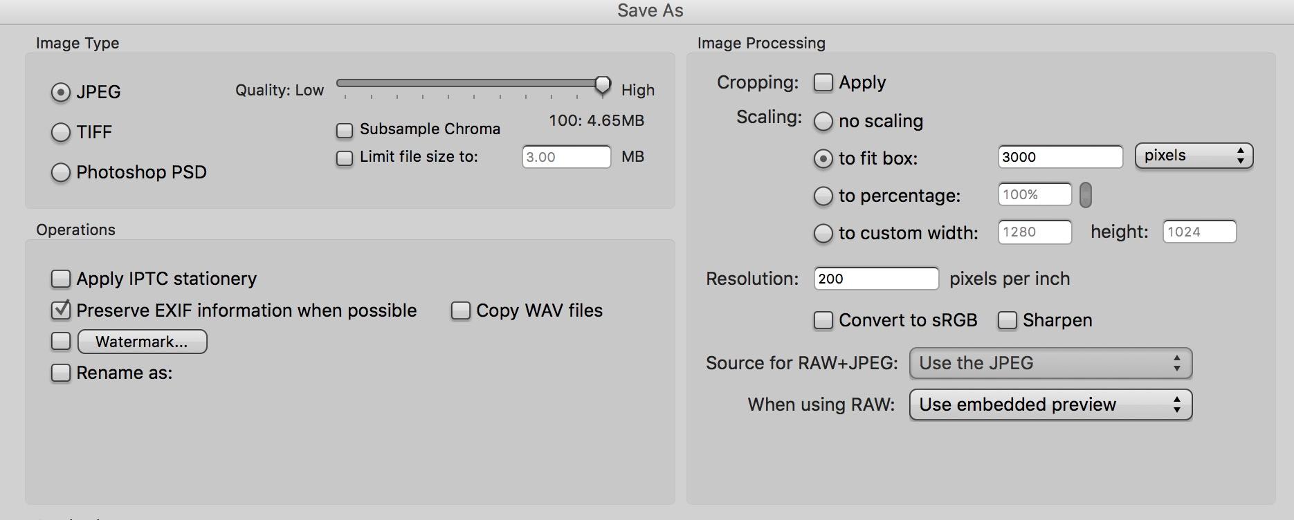 Convert RAW files to JPEG using Photo Mechanic - Camera Bits