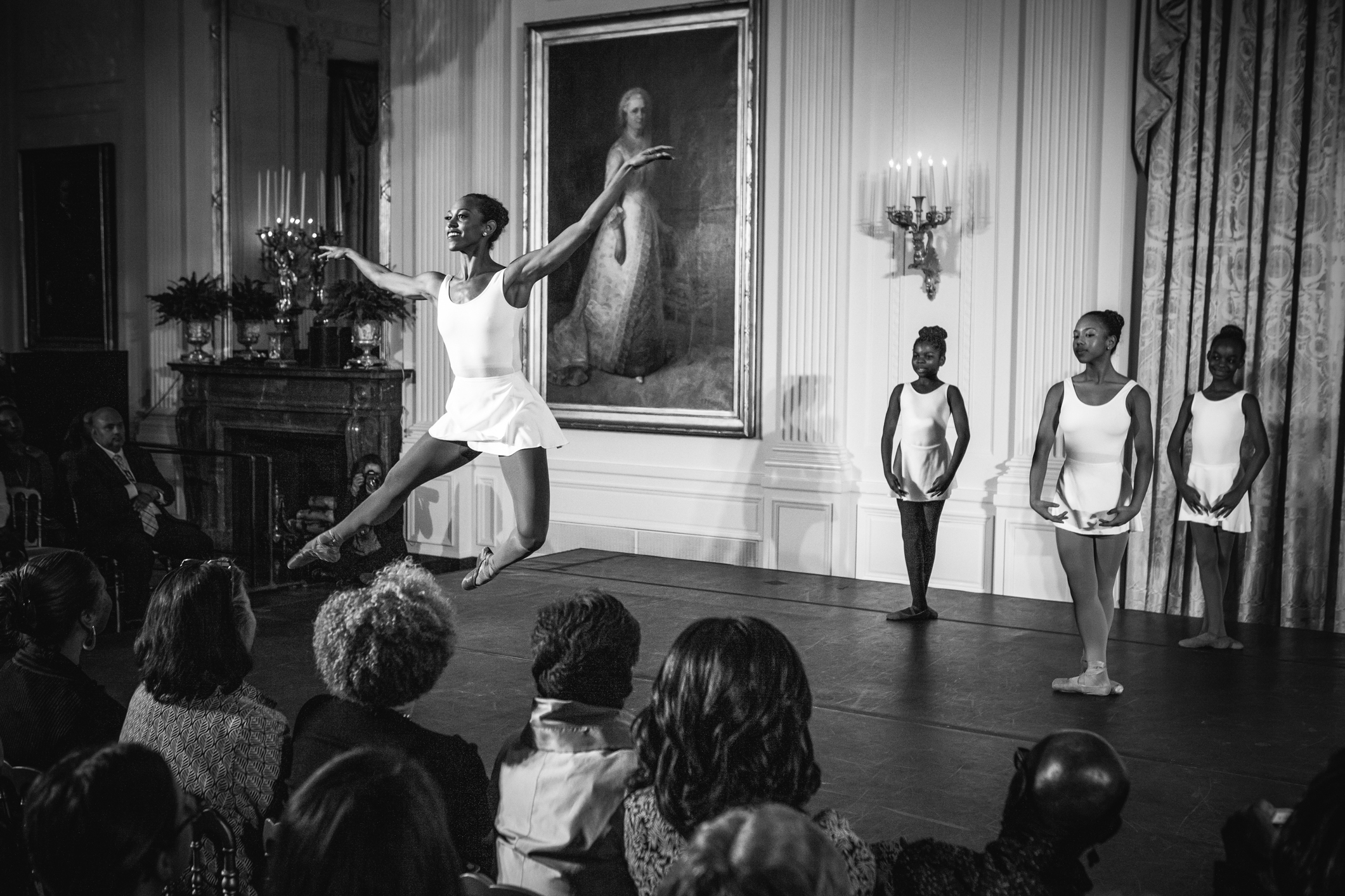 FIRST LADYBLACK HISTORY MONTH DANCE PERFORMANCE